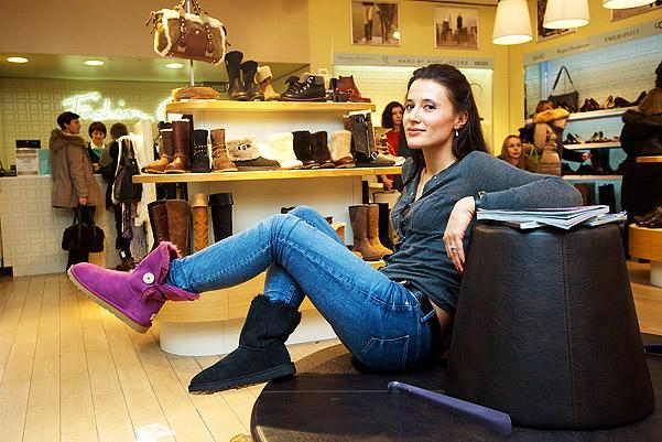 Уникальная обувь от Ugg Australia